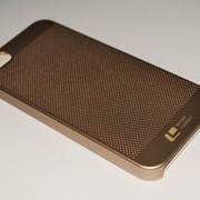 Чехол на Айфон 5/5s/SE Soft Touch Loopee мягкий Пластик Золото фото