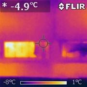 Тепловизор. тепловизионное, тепловизорное, теплотехническое обследование фото