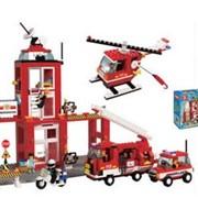 Конструктор SLUBAN Пожарная команда фото