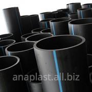 Труба для наружного напорного водоснабжения SDR-33 PN 4.0 ПЭ-80 ф180 фото