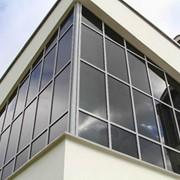 Профиль алюминиевый стойка ригель фото
