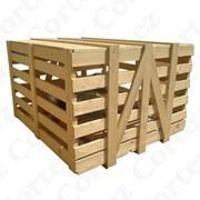Тара деревянная, ящик любого размера. фото