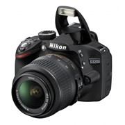 Фотоаппарат Nikon D3200 Kit 18-55VR 55-200VR черная фото