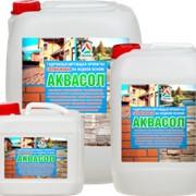 Аквасол — гидрофобная пропитка для камня, бетона и кирпича фото