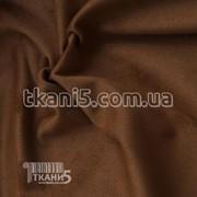 Ткань Стрейч замш плотный ( коричневый ) 5231 фото