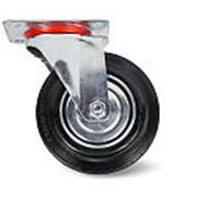 Колесо поворотное резина TOR SC55 125мм (C-3302-SLS-125) фото