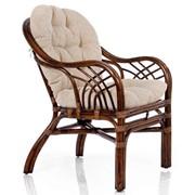 Кресло из ротанга Roma с подушкой фото