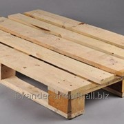Поддон (европоддон, европаллет) деревянный 1-й сорт 800х1200х145 фото