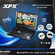 """Портативный DVD плеер XPX EA-9067 с TV тюнером 9,8"""" фото"""