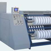 Бобинорезальная машина 3ПР-1300 Киевфлекс для продольной резки и намотки в бобины рулонов, полимерной пленки, бумаги, фольги, ламинированных изделий с последующей намоткой в рулоны (бобины). фото