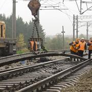 Строительство железнодорожного пути и ввод в эксплуатацию фото