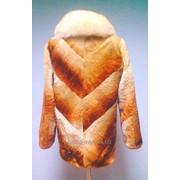 Женские шубы из меха мутона фото