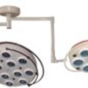 Светильник хирургический холодного света YD02-5+12, потолочный (5-рефл.+12-рефл.) фото