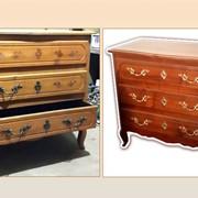 Качественная реставрация антикварной мебели из дерева фото
