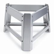 Опоры для бочек Д 1150 (1500,2000 литров), нерж.сталь, Италия фото