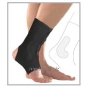 Ортопедический фиксатор ортез для поддержки голени с открытой пяткой и подушечкой для лодыжки 7630 Malleocare flex фото