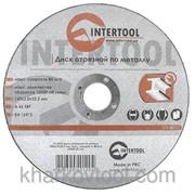Круг отрезной по металлу Intertool CT-4012 фото