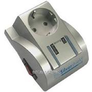 Фильтр питания Gembird Silver Shield 1 розетка (MSIS), код 107419 фото