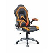 Кресло компьютерное Halmar COBRA (черно-оранжевый) фото