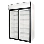 Шкаф холодильный со стеклянными дверями-купе DM110Sd-S фото