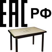 Декларирование соответствия столов (орган по сертификации в РФ) фото