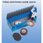 Набор лепестковых шлифовальных кругов фото