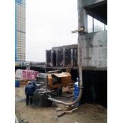 Аренда стационарного бетононасоса фото