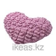 Подушка, сердце сиреневый СОРБАР фото