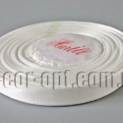 Лента репсовая молочная 0,9 см 25 ярд арт.42 5428 фото