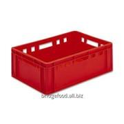 Ящик пластмассовый для колбасных изделий фото