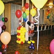 Доставка воздушных шаров по городу. фото
