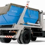 Портальный мусоровоз СБМ-304/2 фото