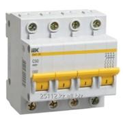 Выключатель автоматический ВА47-29М 4P 1A 4,5кА х-ка C ИЭК фото