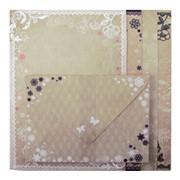 Заготовка для открыток с цветными конвертами Zibi Nostalgia Lace 10.5*14.8см фото