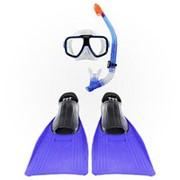 Набор для плавания Intex 55957 маска, трубка, ласты фото