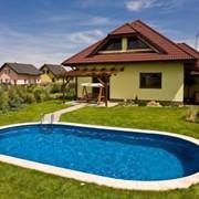 Сборный бассейн IBIZA овальный 8х4,16х1,5 м Разборный бассейн для дачи (морозоустойчивый) фото
