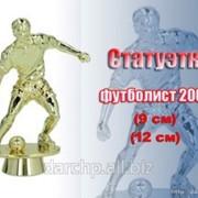 Фигурка пластиковая Статуэтка футболист 20002, м. фото