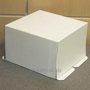 Коробка для торта прямоугольная фото