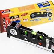 Лазерный уровень с рулеткой. 3 в 1. фото