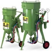 Абразивоструйные аппараты с дистанционным управлением DBS-25RC, DBS-50RC фото