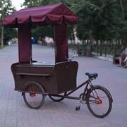 Велорикша торговая фото