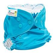 Многоразовый подгузник GlorYes! CLASSIC+ Синий 3-18 кг + два вкладыша фото