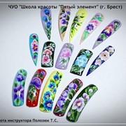 Семинар по китайской росписи ногтей в Бресте фото