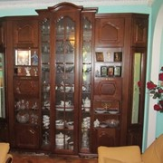 Шкаф для библиотеки фото