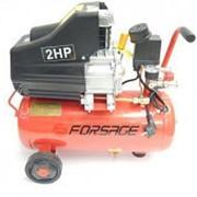 Компрессор Forsage F-BM20/24 24л поршневой с прямым приводом (ресивер 24л,1.5кВт /8 бар/ 180Л/м/ 220В) фото