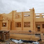 Строительство домов из дерева в Украине фото
