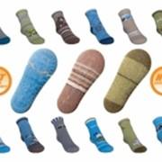 Носки детские с силиконовой подошвой фото
