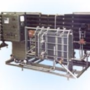 Высокопроизводительная установка для пастеризации и охлаждения молочных продуктов ПМР-02-ВТ (пастеризатор) фото