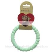 Игрушка для собак нейлон Кольцо мятное ROSEWOOD фото