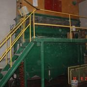 Промышленная стирка и сортировка пух пера. фото